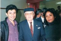Con Nixa y Wilson Guevara